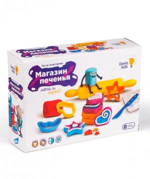 Plasticine for kids «Cookie shop»