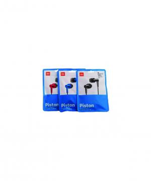 Headphones `Xiaomi` ULTRA-DEEP BASS black and red