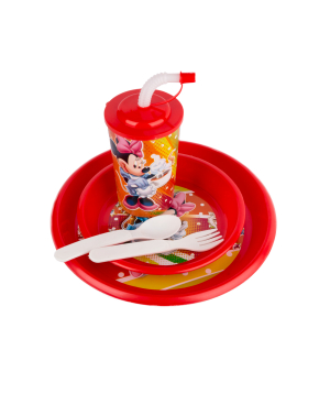 Set with plastic cup and plates №6