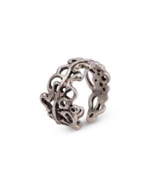 """Ring """"Kara Silver"""" branches"""