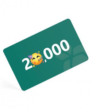 Նվեր քարտ  20,000