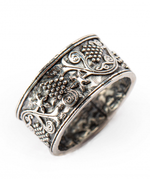 """Ring """"Har Jewelry"""" silver grapes"""