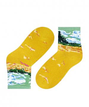 Գուլպաներ «Zeal Socks» դեղին դաշտ
