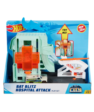Հավաքածու «Hot Wheels» Bat Blitz Hospital Attack