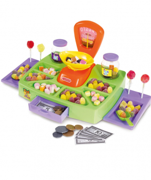 Toy `Cash desk with candies`