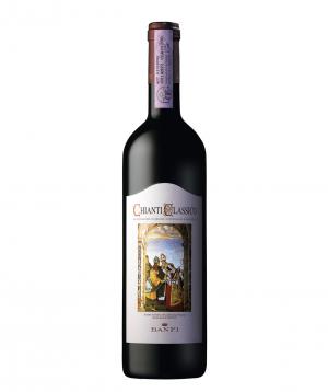 Wine `Banfi Chianti Classico Riserva` red, fry 750ml