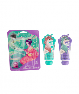 """Collection """"Mirine"""" with a mask and hand cream"""