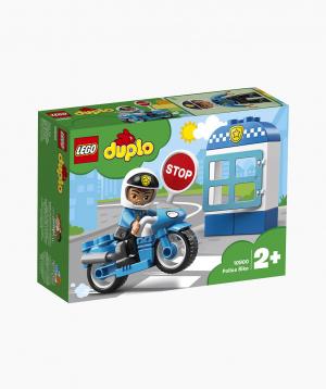 Lego Duplo Կառուցողական Խաղ Ոստիկանական Մոտոցիկլետ