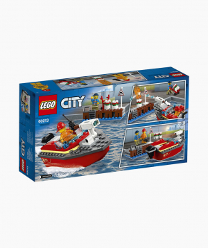Lego City Constructor Dock Side Fire