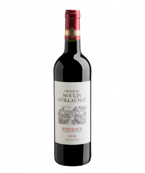 Wine `Chateau Guillaumat` red, dry 750 ml