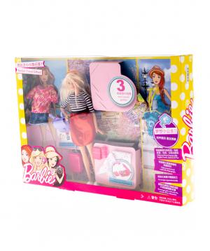 Հավաքածու «Barbie» ճանփորդական նվերների