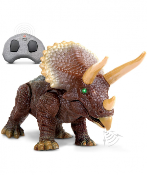 Toy `DISCOVERY` ceratops, remote controlled