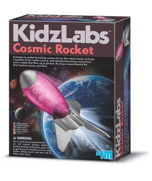 Խաղալիք «KidzLabs» հրթիռ, տիեզերական