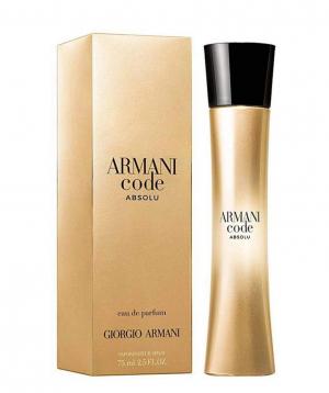 Perfume `Armani Code Absolu Femme` Eau De parfum