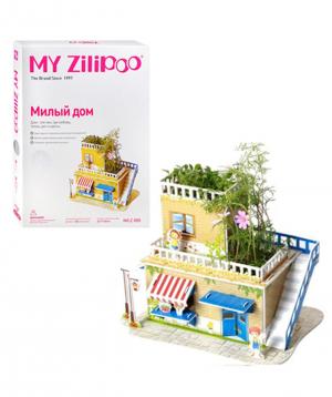 3D Puzzle My Zilipoo- Բնական բույսերով տնակ