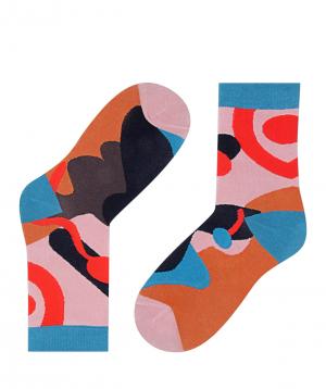 "Socks ""Zeal Socks"" abstract"