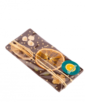 Շոկոլադ «Saryaneats» չորամրգերով և ընդեղենով №1