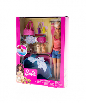 "Barbie ""Barbie""  Puppy Bath Time"