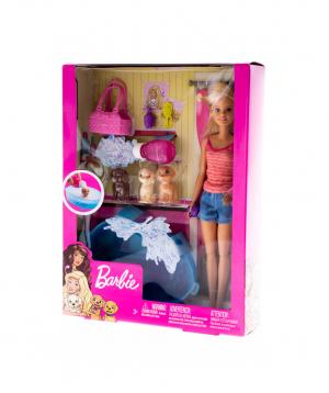 Բարբի «Barbie» շնիկի լոգանքի ժամանակը