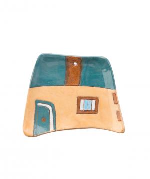 "Plate ""Nuard Ceramics"" House, small №1"