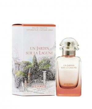"""Perfume """"Hermes un jardin Sur la lagune"""" Eau De toilette 50 ml"""