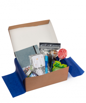"Gift box ""Wonder Me"" Captain America"