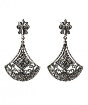 Ականջօղեր «Har Jewelry» արծաթյա նրբություն