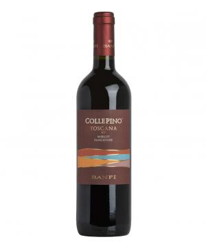 Wine `Banfi Collepino` red, semi dry 750ml
