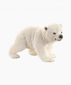 Schleich Animal Figurine «Polar bear cub, walking»