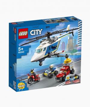 Lego City Կառուցողական Խաղ «Հետապնդում ոստիկանանական ուղղաթիռով»