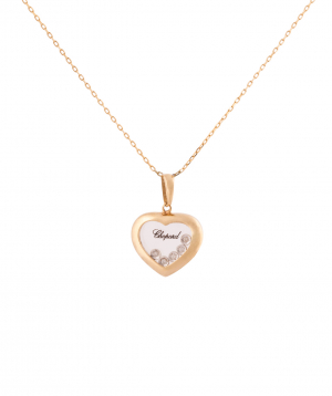 """Pendant """"Less is more"""" Chopard gold №2"""