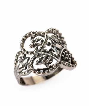 """Ring """"Har Jewelry"""" silver delicacy"""