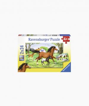 Ravensburger Փազլ «Ձիերի աշխարհ» 2x24p