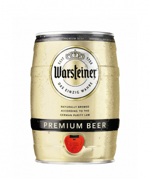 Beer `Warsteiner` 5l