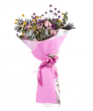 Ծաղկեփունջ «Սելայա» դաշտային ծաղիկներով