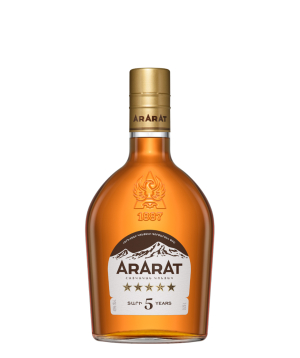 Կոնյակ «ARARAT» Հինգ աստղ 0.25 լ