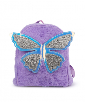 """Backpack """"Butterfly"""" for children, purple"""