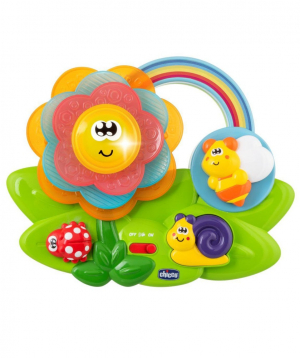 Toy `Chicco` flower, musical