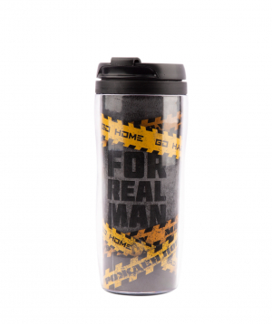 Coffee `Jpit.am` in a thermo glass, For real man