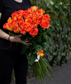 Վարդեր «Sky fire» նարնջագույն 29 հատ