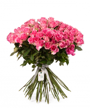 Bouquet `Zaria` with roses
