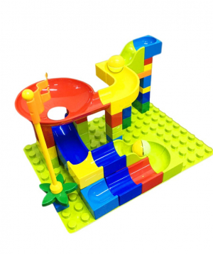 Constructor, slide with balls