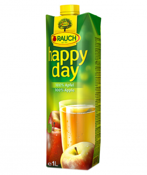 Juice `Happy Day` Natural, apple 1l