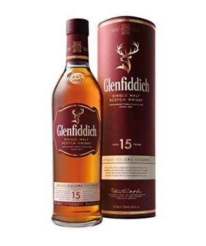 Whiskey `Glenfiddich` 700 ml 15 years old