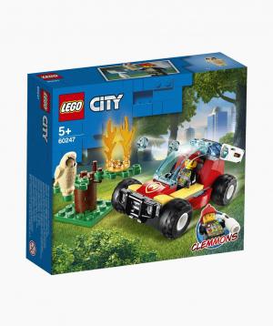 Lego City Կառուցողական Խաղ «Անտառային հրշեջներ»