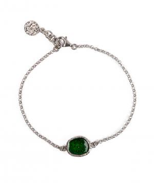 """Bracelet """"DF Project"""" silver №5"""