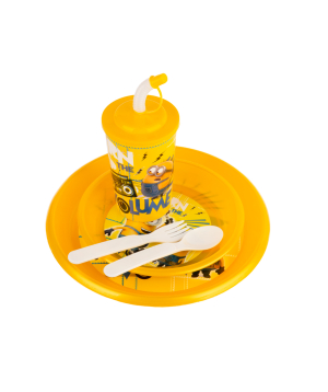 Set with plastic cup and plates №5