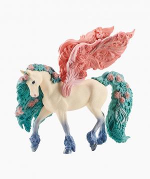Schleich Առասպելական կենդանու արձանիկ «Ծաղիկներով զարդարված պեգաս»