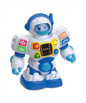 Toy `Little Learner` robot, bilingual, musical