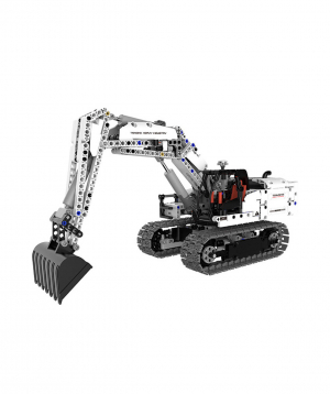 «Xiaomi »  Building Blocks Engineering Hydraulic Excavator